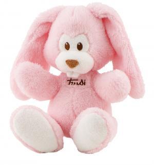 Мягкая игрушка  Заяц Вирджилио розовый 26 см цвет: Trudi