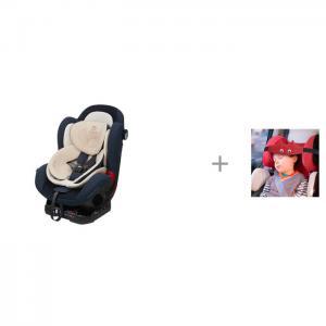 Автокресло  Daily и Клювонос Фиксатор головы ребенка для автокресла Мяу Ducle