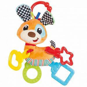 Игрушка-подвеска  Собачка Clementoni. Цвет: разноцветный
