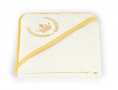 Полотенце с капюшоном Королевский 100х100 см Золотой Гусь