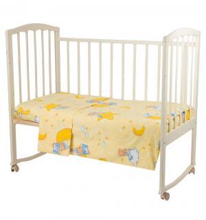 Комплект постельного белья , цвет: голубой 4 предмета Bombus