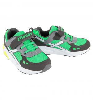 Кроссовки , цвет: зеленый/серый Crosby