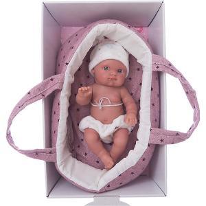 Кукла Пепита в фиолетовой корзине, 21см, Munecas Antonio Juan. Цвет: фиолетовый