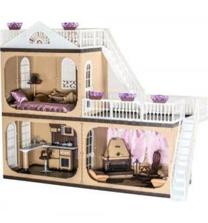 Дом для кукол  Коттедж Коллекция 90 см Огонек