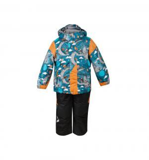 Комплект куртка/полукомбинезон  Нильс, цвет: бирюзовый Oldos