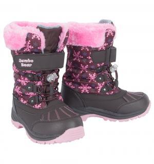 Ботинки , цвет: коричневый/розовый Jumbo