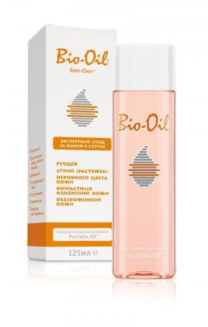 Масло косметическое для лица и тела  (от шрамов, растяжек, неровного тона), 125 мл Bio-Oil