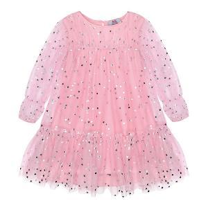 Платье нарядное  для девочки Bell Bimbo. Цвет: розовый