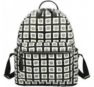 Городской рюкзак кожаный Клетка ORS-0108 Ors Oro