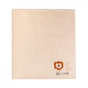 Плед  Одеяло с вышивкой Mr Lion 90х100 см Крошка Я