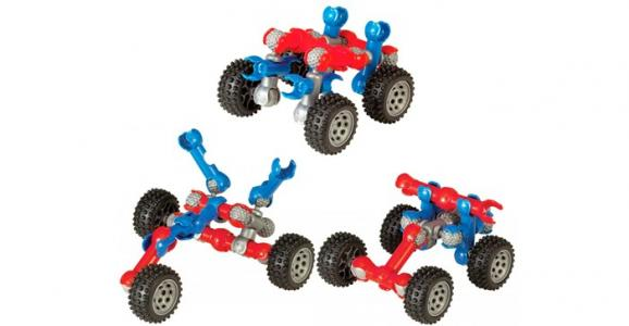 Конструктор  Mobile Mini 4-Wheeler 16 деталей Zoob