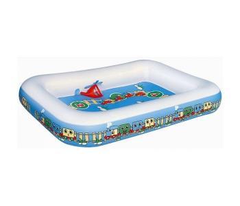 Бассейн  Детский надувной 201х150х30 см Bestway