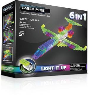 Самолет 6 в 1 Laser Pegs