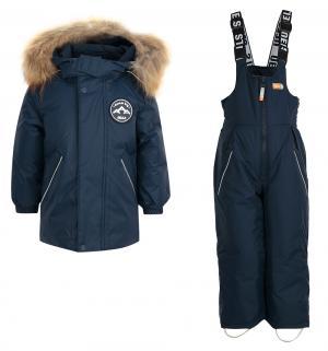 Комплект куртка/полукомбинезон  Erno, цвет: синий Nels