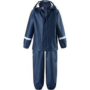 Комплект  Tihku: куртка и полукомбинезон Reima. Цвет: темно-синий