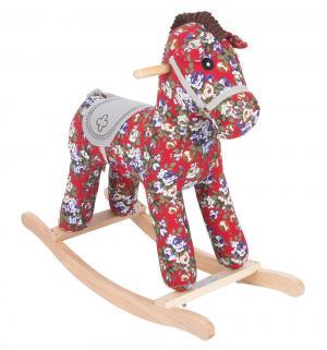 Качалка-игрушка  Лошадка, цвет: красный Leader Kids