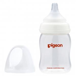 Бутылочка для кормления PP с широким горлом 160 мл, Pigeon