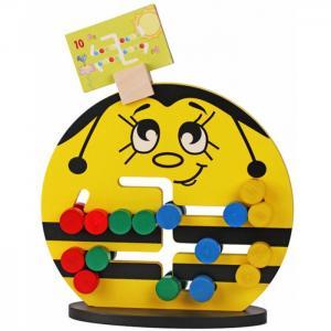 Деревянная игрушка  Логическая игра Пчёлка Краснокамская