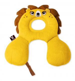 Подушка для путешествий  Лев, цвет: желтый BenBat