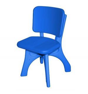 Детский стул  Дейзи, цвет:синий King Kids