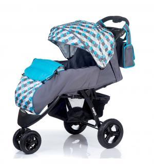 Прогулочная коляска  Voyage air, цвет: grey-blue BabyHit