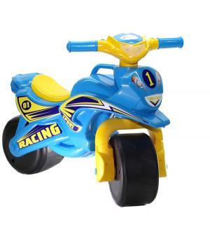 Байк  Sport, цвет: голубой/желтый Doloni