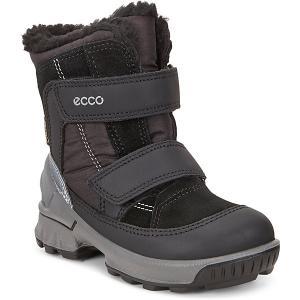 Утеплённые сапоги ECCO. Цвет: черный