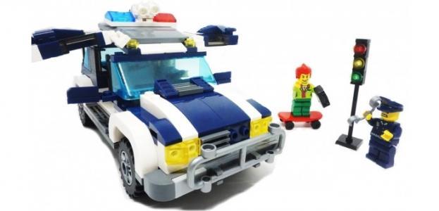 Конструктор  Джип полиции 1117 (394 элемента) Enlighten Brick