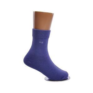 Носки , 2 пары Lansa. Цвет: синий