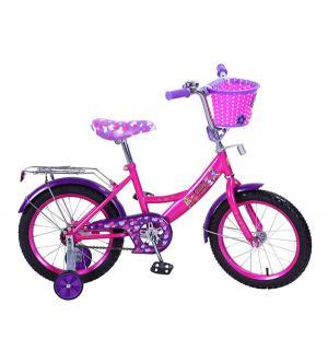Велосипед  Filly, цвет: розовый/фиолетовый Mustang