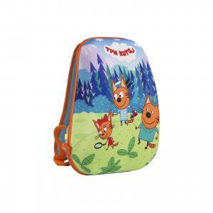 Рюкзак Три кота Kinderline. Цвет: разноцветный