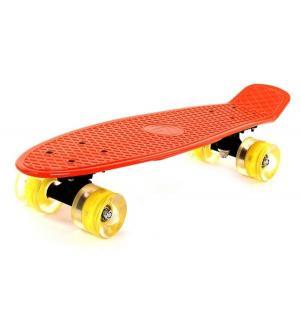 Скейтборд  Teen 1, цвет: оранжевый Larsen