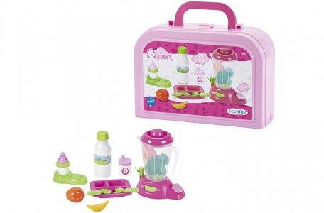 Игровой набор кормление малыша в чемоданчике Ecoiffier