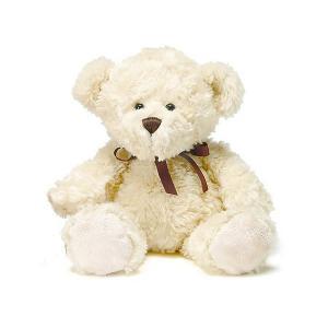 Мягкая игрушка плюшевый мишка Хьялле 20 см, светло-коричневый Teddykompaniet. Цвет: белый