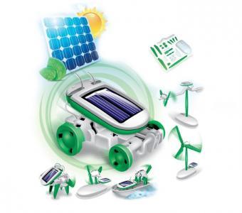 Конструктор  на солнечных батареях 6 в 1 Solar Motion Bradex