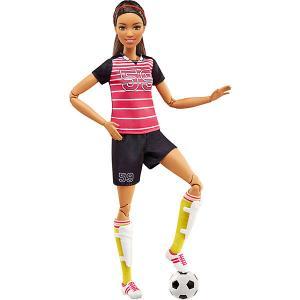Кукла Футболистка из серии Безграничные движения, Barbie Mattel