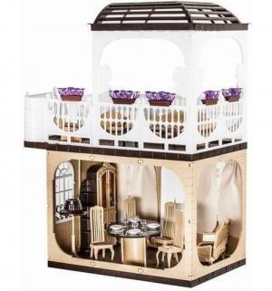 Дом для кукол  Коттедж Коллекция 80 см Огонек