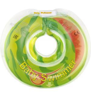 Круг  полуцвет, цвет: салатовый Baby Swimmer