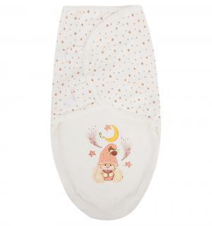 Пеленка Маленький гномик, цвет: бежевый Babyglory