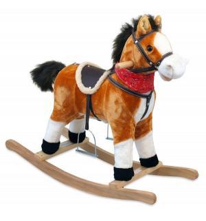 Качалка-лошадка  Oscar, цвет: рыжий/темная грива Baby Mix