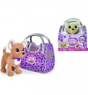 Мягкая игрушка  Путешественница с сумкой 20 см Chi Love