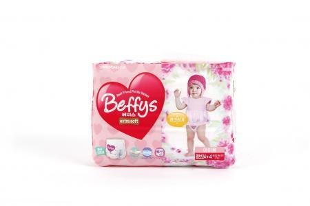 Трусики-подгузники  Extra soft для девочек (17+ кг) 28 шт. Beffys