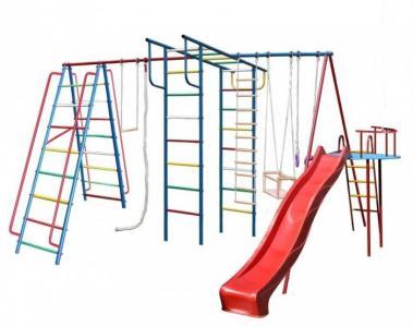 А1+П Макси Детский спортивный комплекс с горкой 3 м Вертикаль