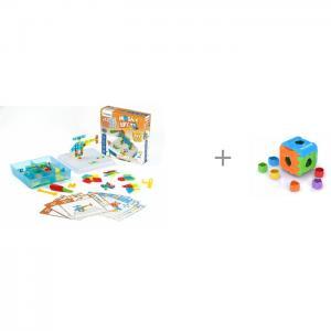 Конструктор  Mosaic Art 3D и дидактический Кубик Miniland