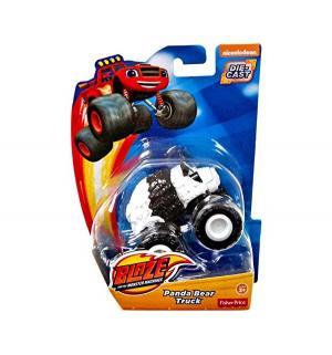 Машинка  Вспыш и его друзья Медвежонок Панда 8 см Blaze