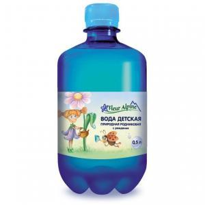 Вода  Детская питьевая, 0.5 л, 1 шт Fleur Alpine