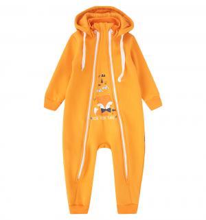 Комбинезон  Лисенок, цвет: оранжевый Newborn
