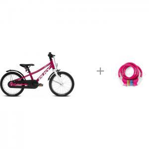 Велосипед двухколесный  Cyke 16 и велозамок кодовый KS Puky