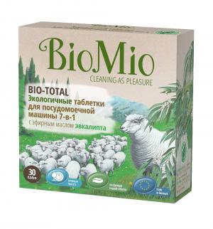 Таблетки  для посудомоечных машин, 30 шт BioMio