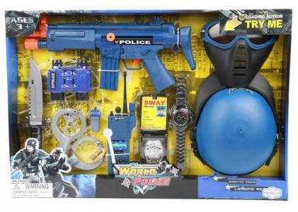 Набор игровой Полиция на батарейках Игруша
